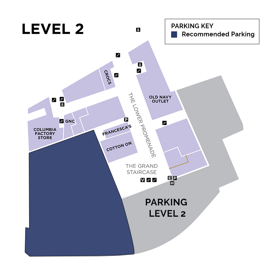 escalator 3 parking